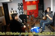 Studio VOX Montpellier Enregistrement CD ACBK 2013 Photo 01