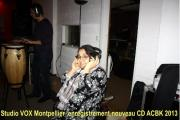 Studio VOX Montpellier Enregistrement CD ACBK 2013 Photo 04